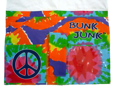 Bunk Junk Bj Bed Caddy Tie Dye