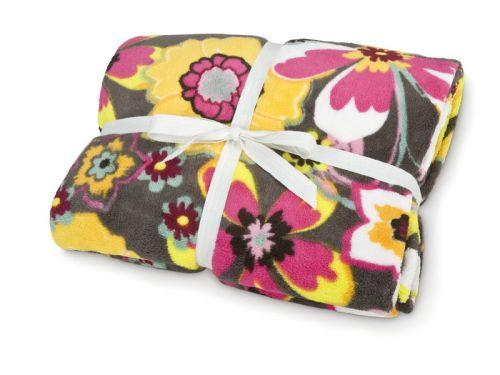 Bunk Junk Blooming Bunch Cozy Fleece