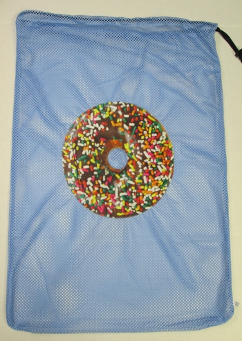Bunk Junk Donut Mesh Laundry Bag