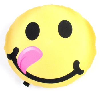 Bunk Junk Double Sided Emoji Autograph Pillow