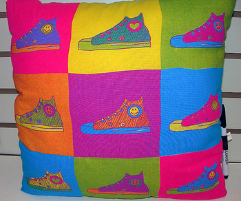 Bunk Junk Sneaker Pillow