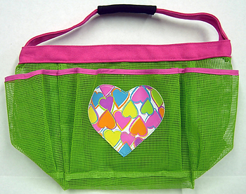 Bunk Junk Mesh Heart Bag