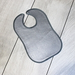 Leather Bib (Gray)