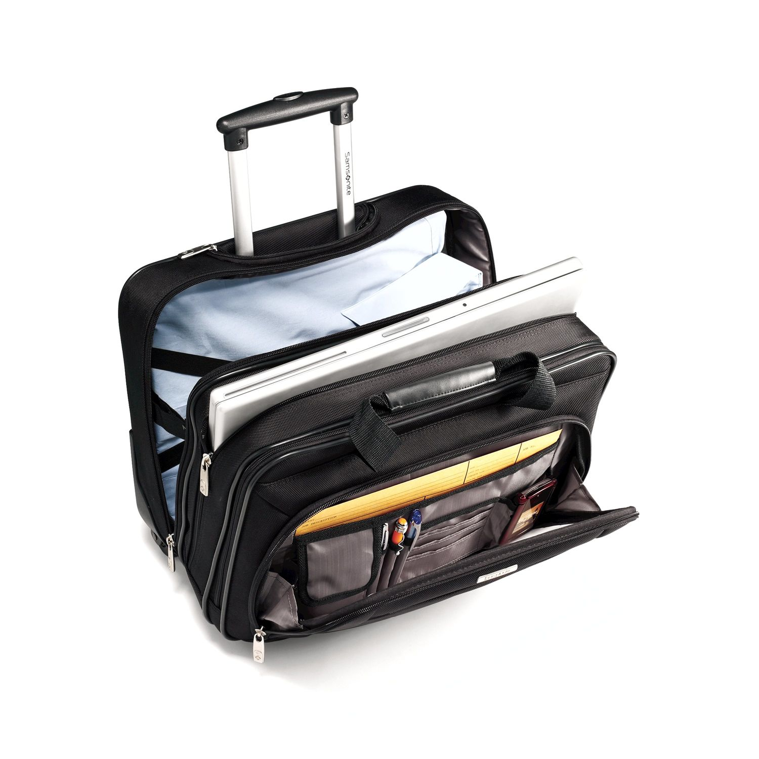 6f365b77cd64 Samsonite Classic Business Wheeled Business Case (Black)