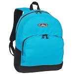 Everest Classic Backpack W/ Front Organizer - Turq