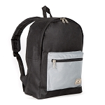Everest Basic Color Block Backpack - Black/gray