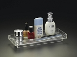 Lucite 12 x 4.5 Amenities Tray