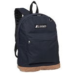 Everest Suede Bottom Backpack - Navy