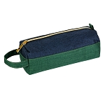 ELESAC Pencil Case (Green/Navy)