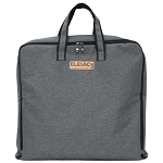 ELESAC Foldable Garment Bag,Clothing Suit Dance w/Pockets, for Business Travel (Dark Gray)