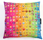 Multi Icon Autograph Pillow