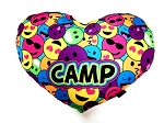 Smile Heart Camp Autograph Pillow