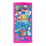 CAMP VIBES BEACH TOWEL - INCLUDES EMBROIDERY