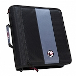 Case-it Classic 2-Inch Ring Zipper Binder (Black)