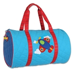 Stephen Joseph Quilted Duffle (Airplane)