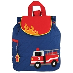 Stephen Joseph Quilted Backpack (Firetruck)