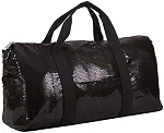Sequin Fashion Duffle Bag (Black)