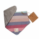 Cozy Coop Striped Bandana Bib