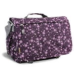 J World Thomas Messenger Color Garden Purple