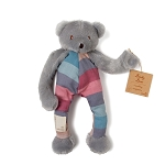 Cozy Coop Striped Binky Bear