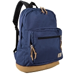 Everest Suede Bottom Daypack W/ Laptop Pocket (Navy)