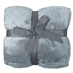 Flannel Plush Blanket CHOOSE A COLOR INCLUDES EMBROIDERY