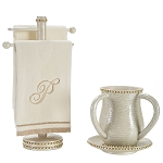 Heritage Diamond Wash Cup (Tray & Towel Stand Sold Separately)