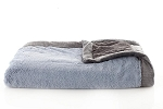 Saranoni Slate Blue Charcoal Lush Toddler Blanket