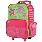 Stephen Joseph Classic Rolling Luggage (Flower)