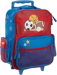 Stephen Joseph Classic Rolling Luggage (Sports)