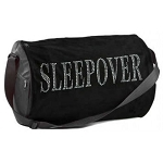 Sleepover BLING Duffle Bag :Black