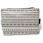 Sugar Lulu LARGE Glam Cosmetic Bag (Rebel Chic)