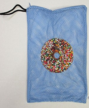 Bunk Junk Donut Mesh Sock Bag
