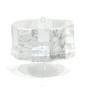 Cake Domes - Hexagon Footed (Marble)