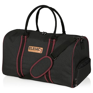 ELESAC Travel Duffel Express Weekender Bag ° Carry on Luggage with Shoe compartment CHOOSE A COLOR