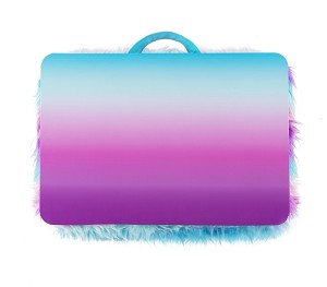 GRADIENT FUR LAP DESK - INCLUDES PERSONALIZATION