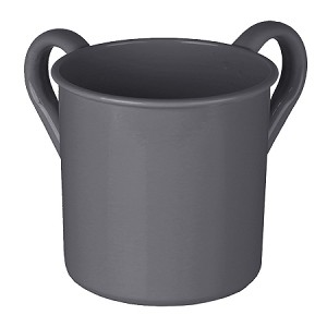 Washing Cup Powder Coated - Dark Gray