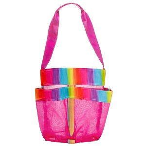 BRIGHT RAINBOW SHOWER CADDY