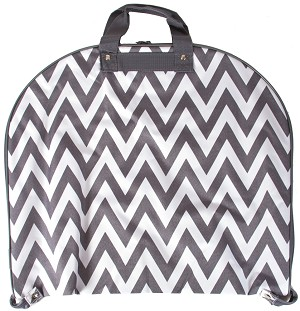 Chevron Fashion Garment Bag (Gray)