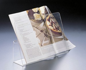 Lucite Cookbook Stand