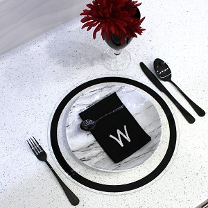 WATERDALE Chargers Black Black Round
