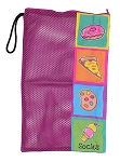 Bunk Junk Junk Food Mesh Sock Bag