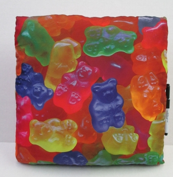 Gummy Bear Autograph Pillow
