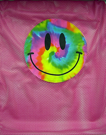 Bunk Junk Tie Dye Smile Mesh Laundry Bag.jpg