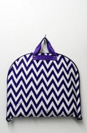 Chevron Fashion Garment Bag (Purple)