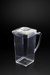 Lucite Square 1 3/4 Qt Pitcher