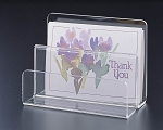 Lucite In & Out Letter Holder