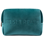 COSMETIC POUCH - VIXEN TEAL (velour finish)