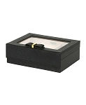 Dixie Fashion Jewelry Box (Black)