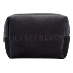 COSMETIC POUCH - VIXEN BLACK (velour finish)